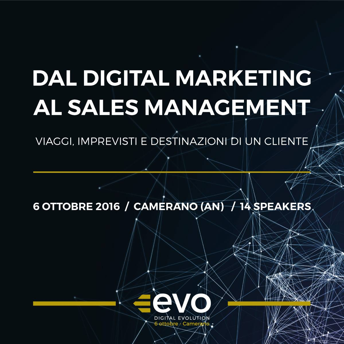 Evento EVO - Digital evolution 2016