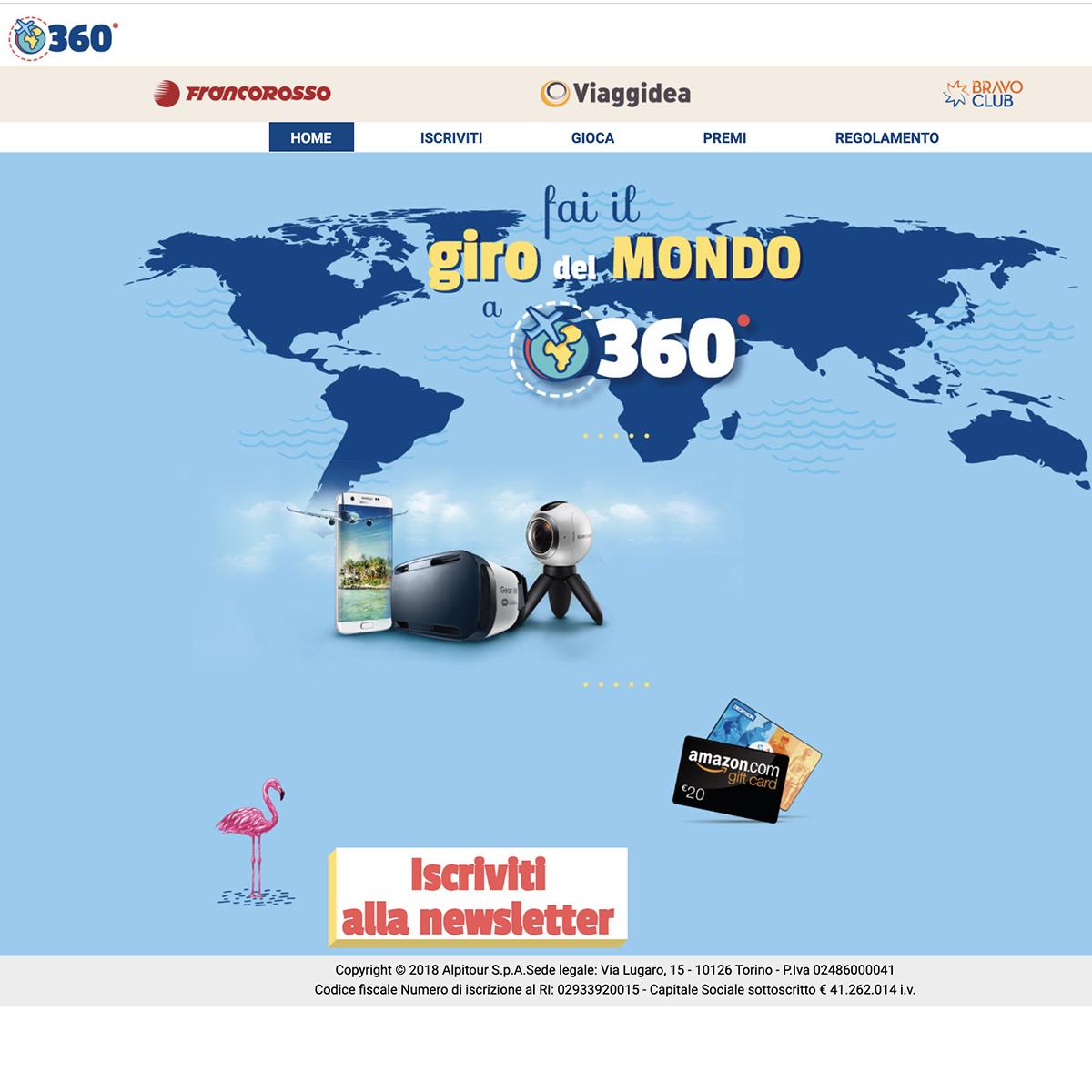 Concorso Giro del Mondo a 360°