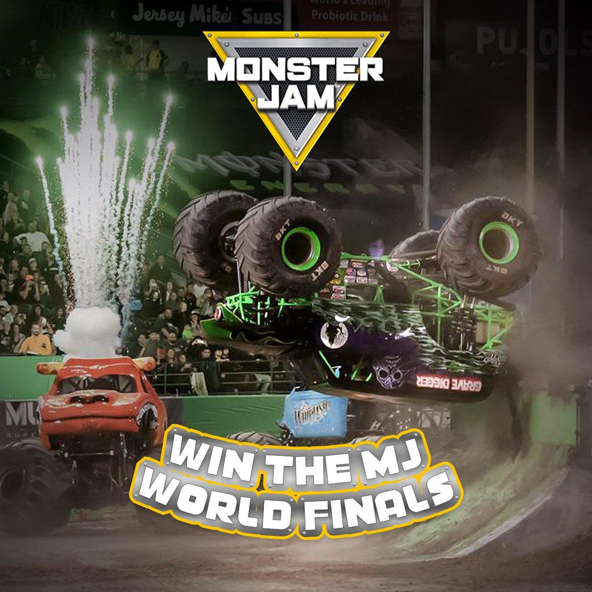 """Concorso """"Monster Jam Finals"""""""