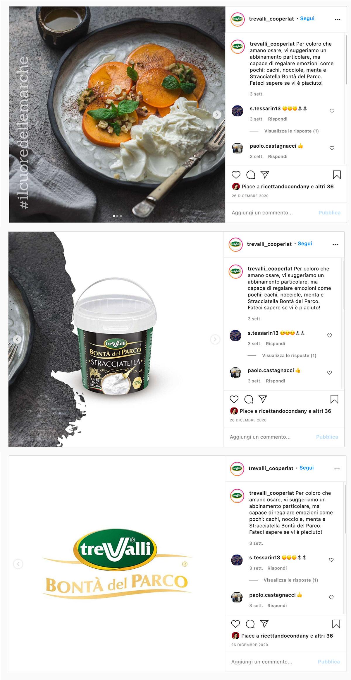 Restyling piano editoriale per lancio brand Bontà del parco