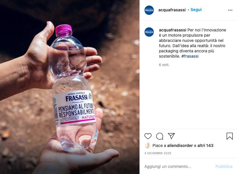 Il brand su Instagram