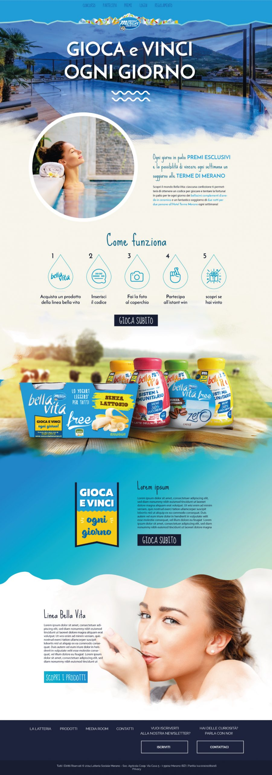 Concorso on pack