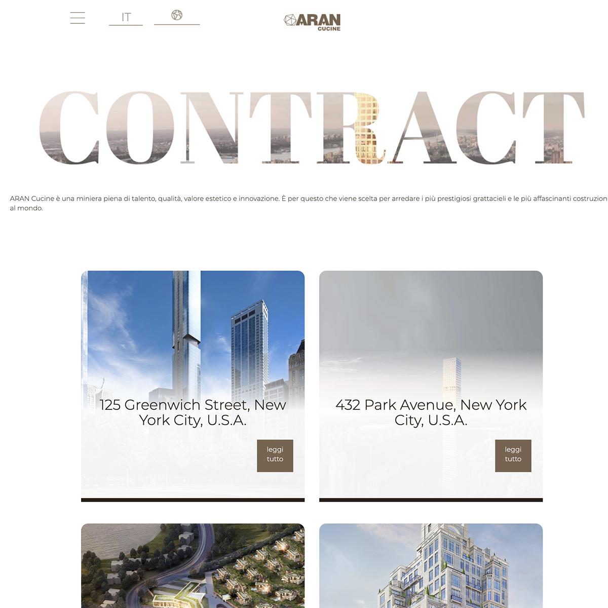 Sezione Contract