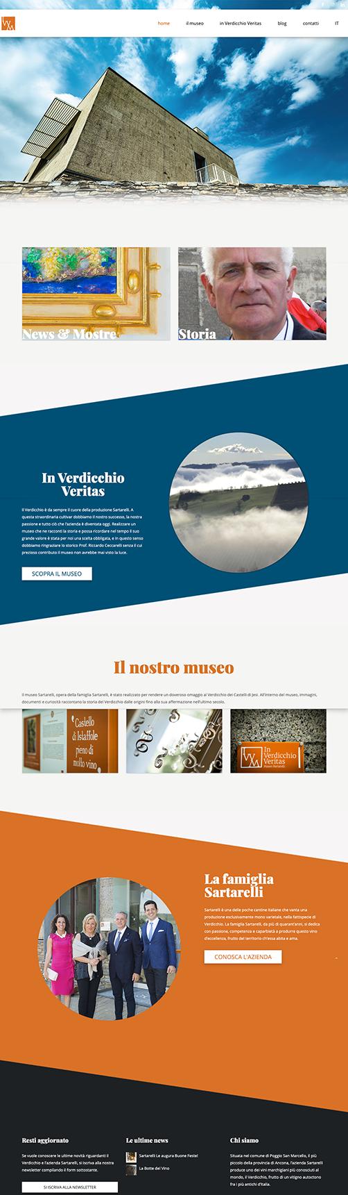 Realizzazione sito museo del verdicchio