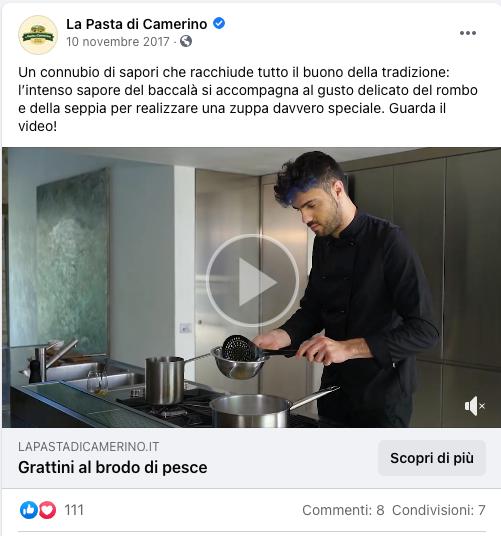 Realizzazione video ricette con chef